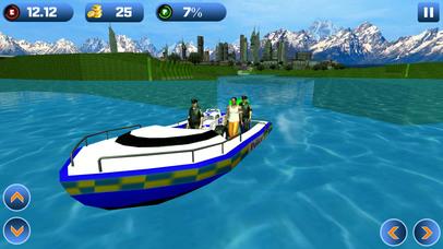 Power Boat Transporter: Police - Pro Screenshot 1