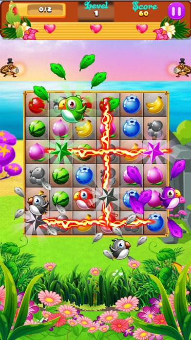 Sweet Fruits & Birds screenshot 1