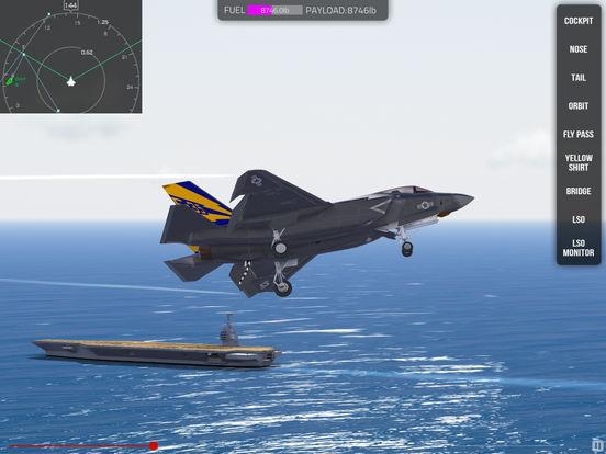 F35 Carrier Landing HD screenshot 9