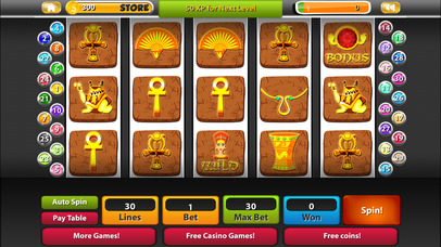 Screenshot 2 Cleo's Pyramid Slots 777 — Spin and Win!