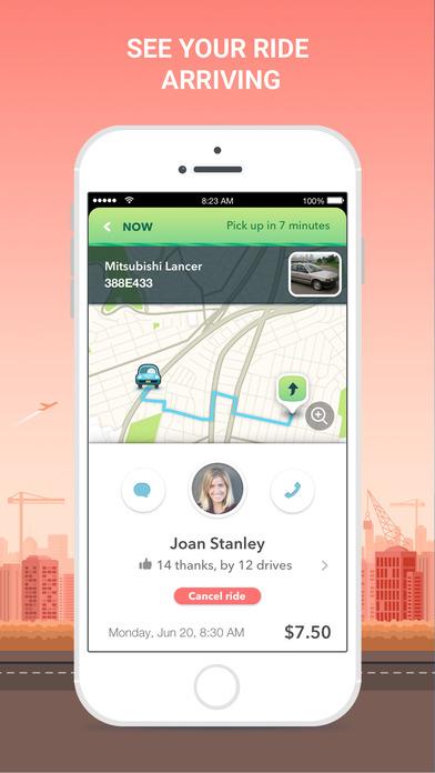 waze carpool ride together app report on mobile action. Black Bedroom Furniture Sets. Home Design Ideas
