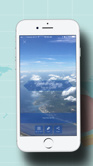 LetzGo Travel Event Countdown screenshot 3