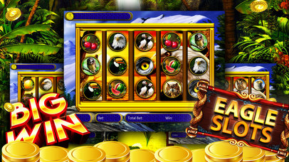 Screenshot 1 Royal Wild Eagle Slots: Liberty Fun & Mega Slotter