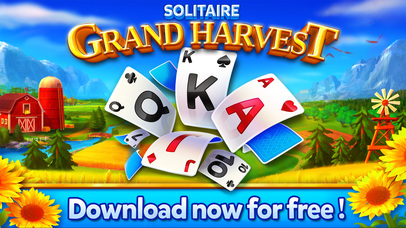 Screenshot 4 Solitaire — Grand Harvest — Classic free card game