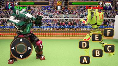 Incredible Monster Superheroes Ring Battle screenshot 3