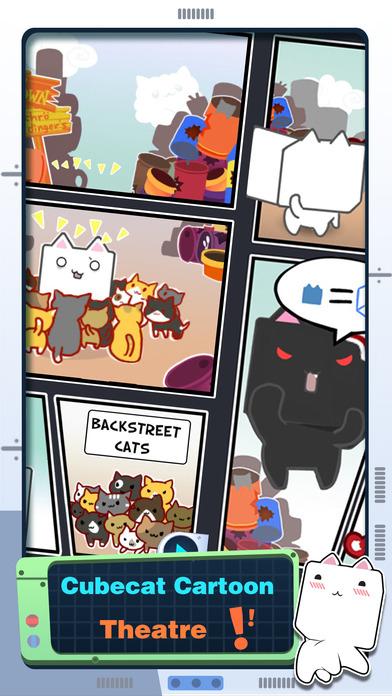 Screenshot 1 Cube Cat.
