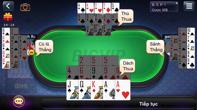 Screenshot 3 Game Danh Bai Online BigVip
