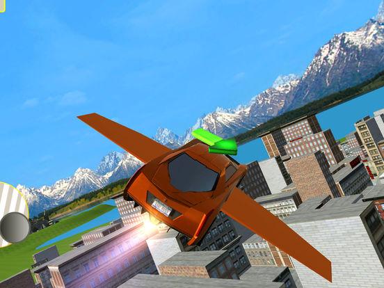 Futuristic Flying Car 3D screenshot 7