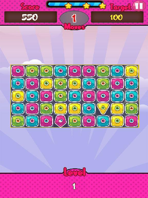 Monster Candy Match screenshot 4
