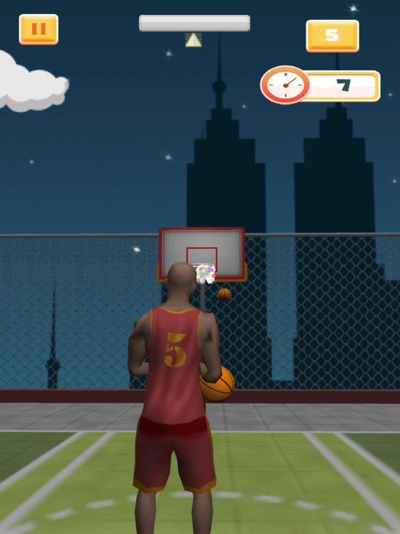 Crazy Rooftop Basketball Match screenshot 4
