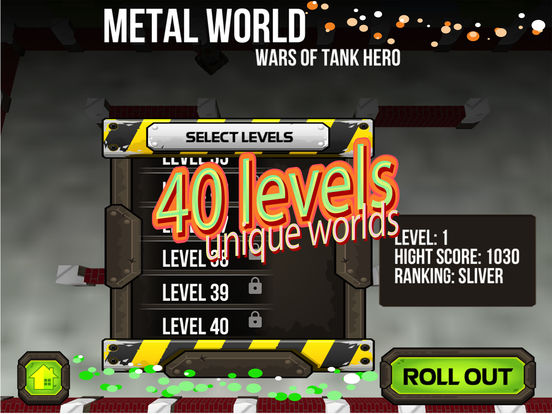 Wars of Tank Hero Metal World screenshot 10
