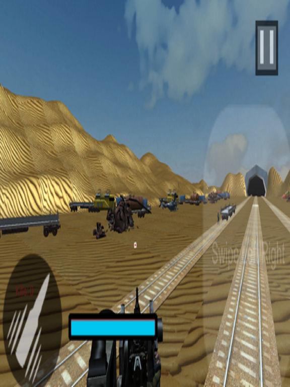 Euro Train Gunner Battle 2017 screenshot 7