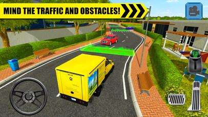 Truck Driver: Depot Parking Simulator Screenshot 3