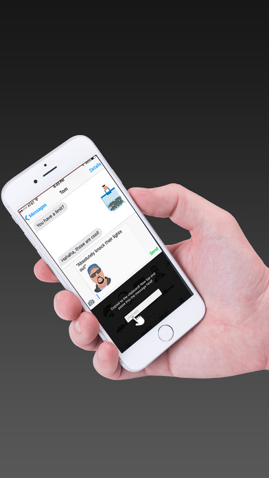 Screenshot for FishMoji in United States App Store