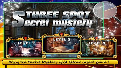Three Spot Secret Mystery screenshot 1