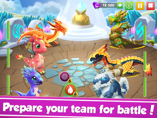 Dragon Mania Legends: Dragon Breeding Gamescreeshot 2