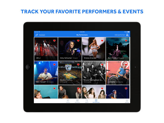 Screenshots for SeatGeek – Tickets to Sports, Concerts & Broadway