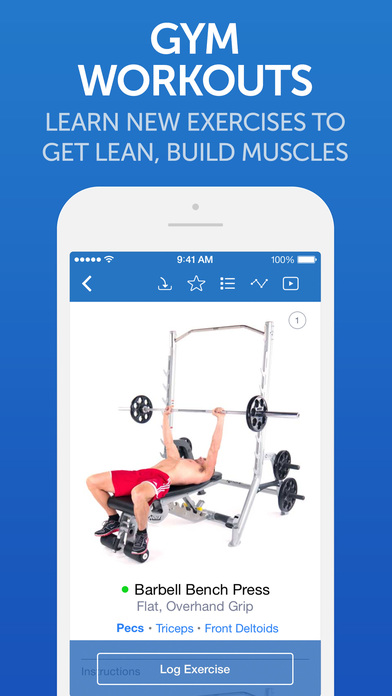 Fitness Buddy+ Gym Workout Exercise, Home Trainer Screenshots