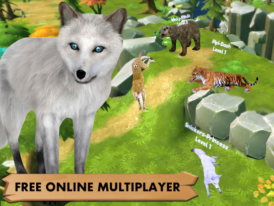 My Wild Pet Online Cute Animal Rescue Simulatorscreeshot 2