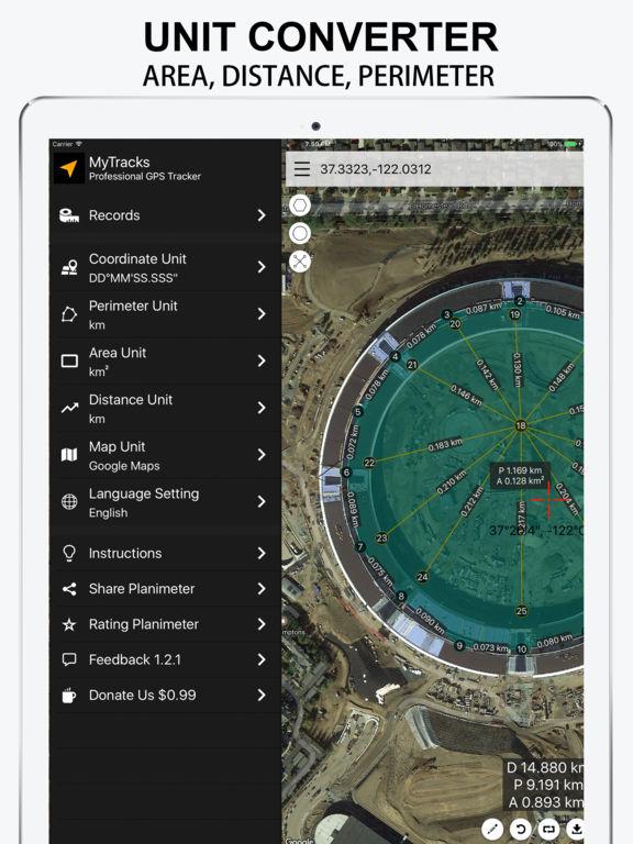 Planimeter Screenshots