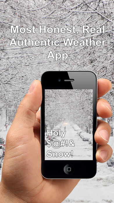 Honest Weather - Real, Honest & Authentic Weather Screenshots