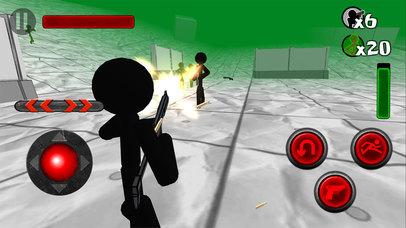Stickman Zombie 3D screenshot 4