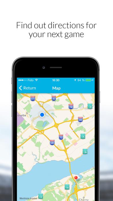 Screenshot for MonClubSportif in Canada App Store