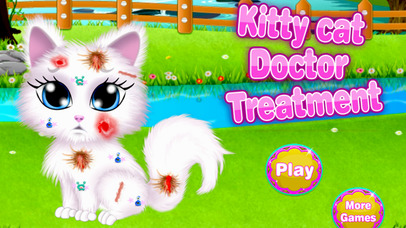 Kitty Cat Doctor Treatment screenshot 1