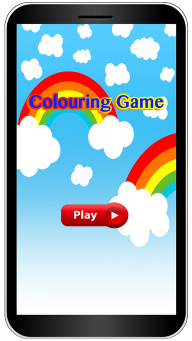 Children In The City Colouring Books Game screenshot 1