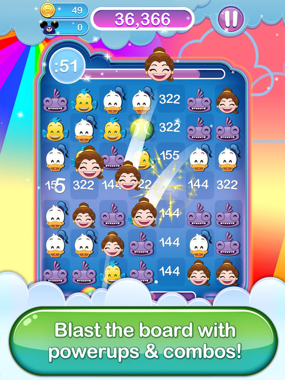 Screenshot #4 for Disney Emoji Blitz - Classics
