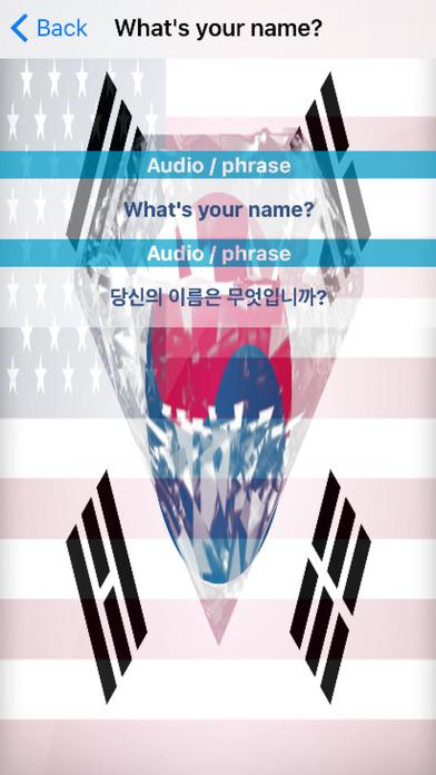Korean Phrases Diamond 4K Edition screenshot 3
