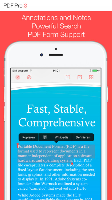 PDF Pro 3 – The ultimate PDF app Screenshots