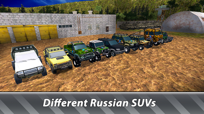Russian SUV Offroad Simulator Full screenshot 4