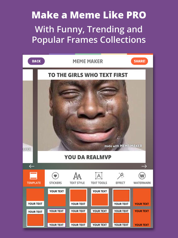 Meme Maker PRO - Caption Generator Memes Creator Screenshots