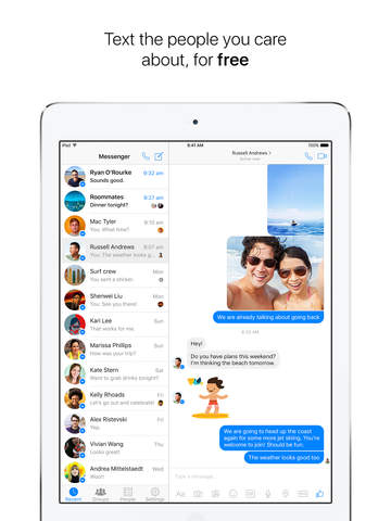 Messenger screenshot 2