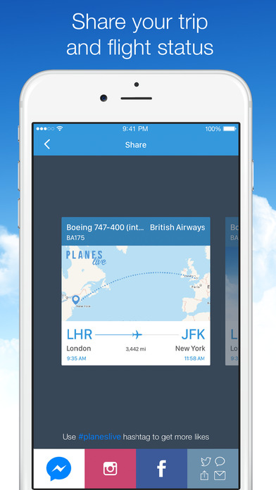 Screenshot #9 for Planes Live - Flight Status Tracker and Radar