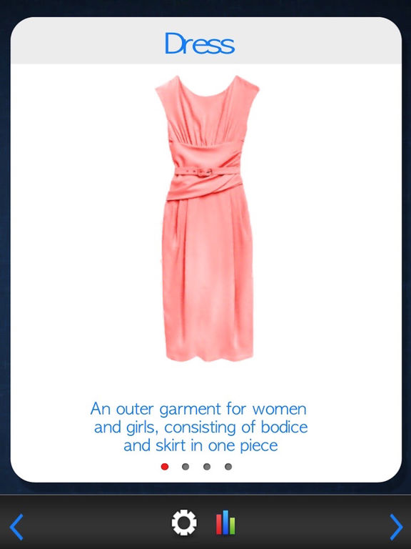 Flashcards - Clothes & Accessoriesscreeshot 2