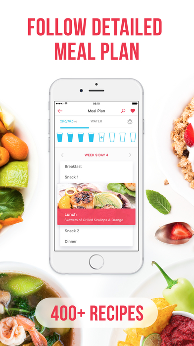 Screenshot for RUNNING for weight loss PRO: workout & meal plans in United States App Store