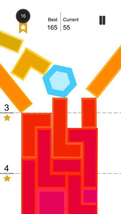 Tap Falling:Crush the tower of blocks screenshot 3