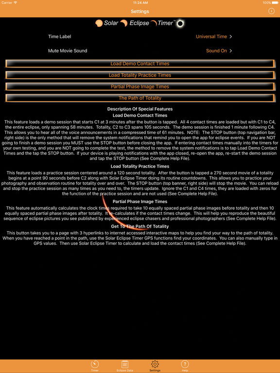 Solar Eclipse Timer screenshot 8