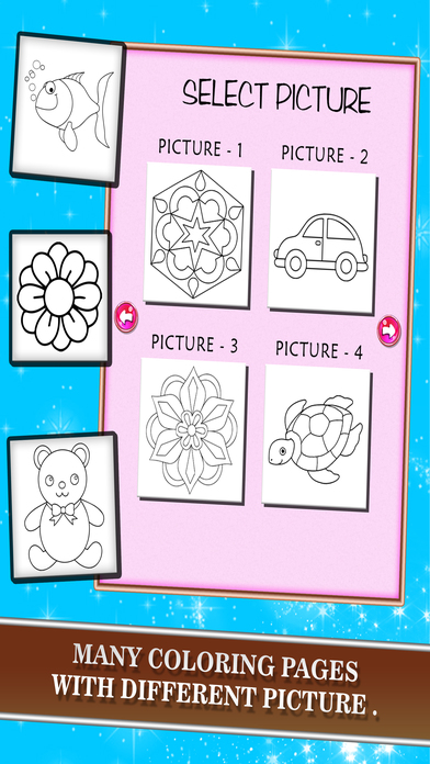 Puzzle: Kids Painting Coloring Book screenshot 2