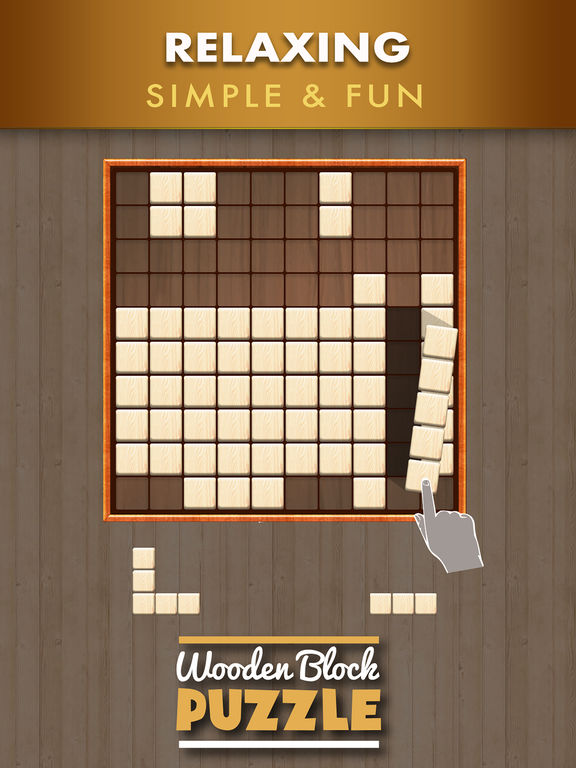 Wood Block Puzzle ~ Wooden block puzzle game on the app store
