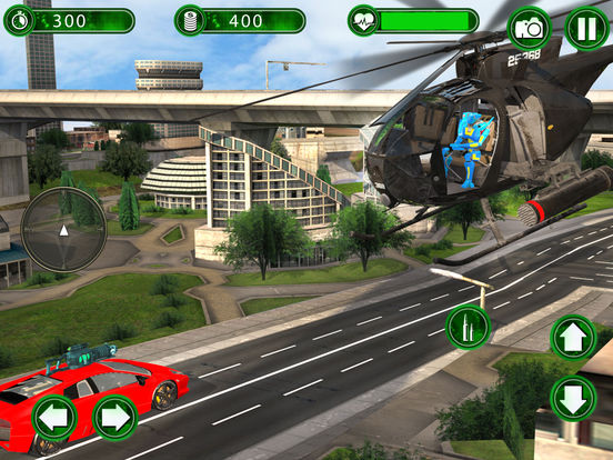 Super Helicopter Robot Hero screenshot 8