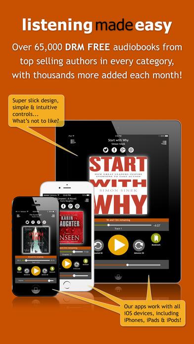 AudiobookSTORE.com - Audiobook Listening Made Easy Скриншоты3