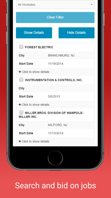LaborPower Mobile screenshot 2