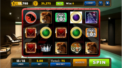 Screenshot 5 Wild Cat Slots Kingdom — Jackpot Casino