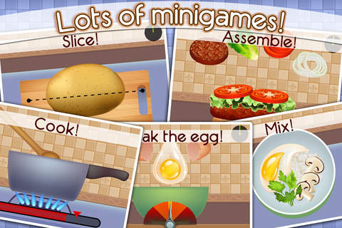 Cookbook Master - Kitchen Chef & Food Maker Game screenshot 2