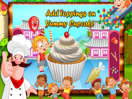 Kids Cup Cake Maker screenshot 10