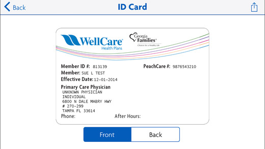 Health Insurance Card Examples