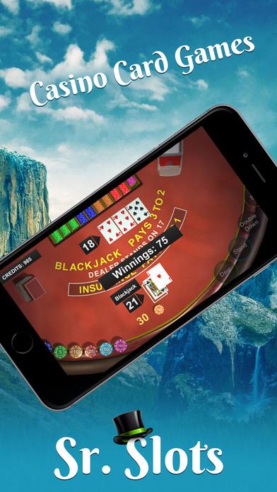 Screenshot 2 Sr. Slots — Favorite Slots & Vegas Games